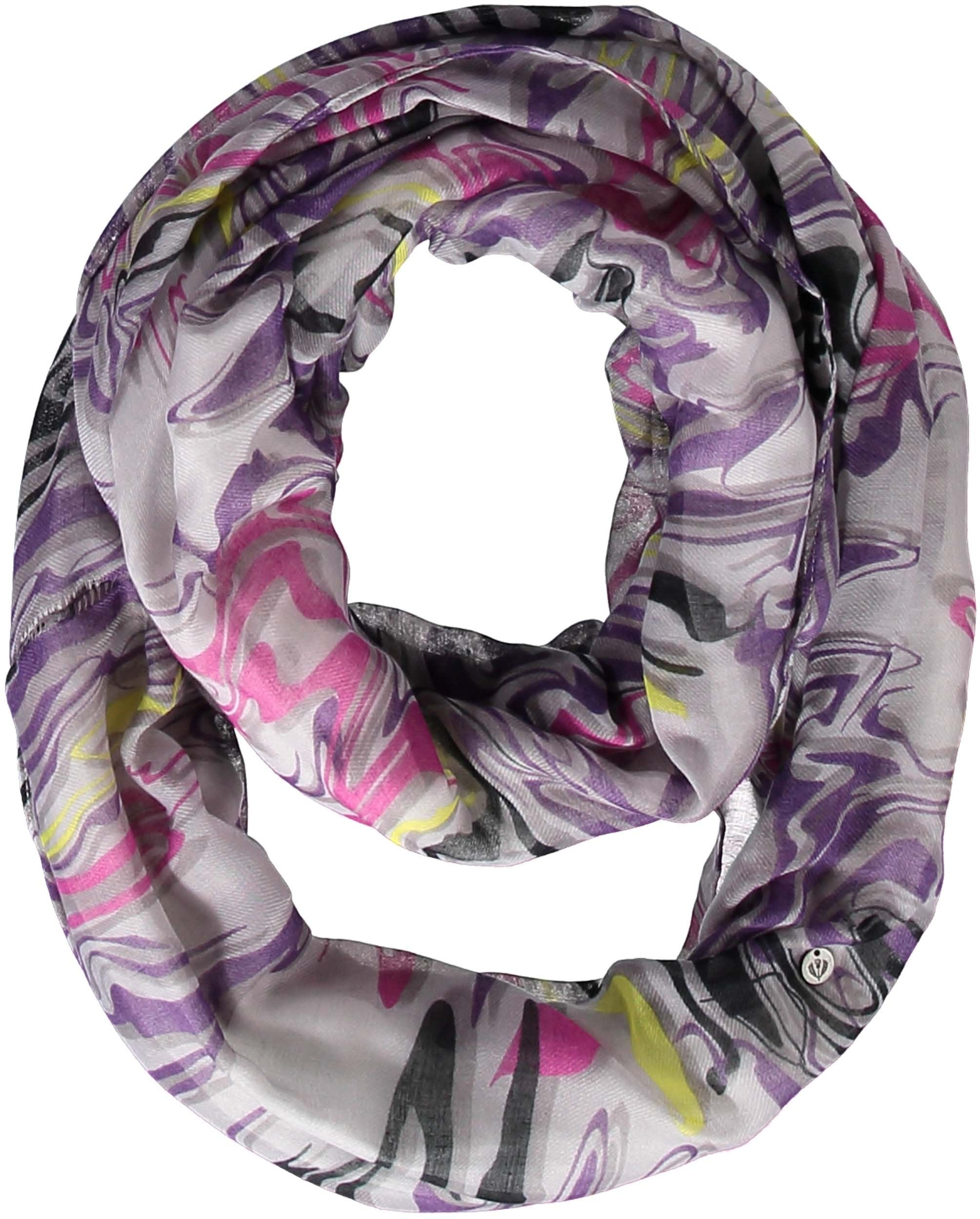 Galaxy Loop Polyester Print Infinity-scarf