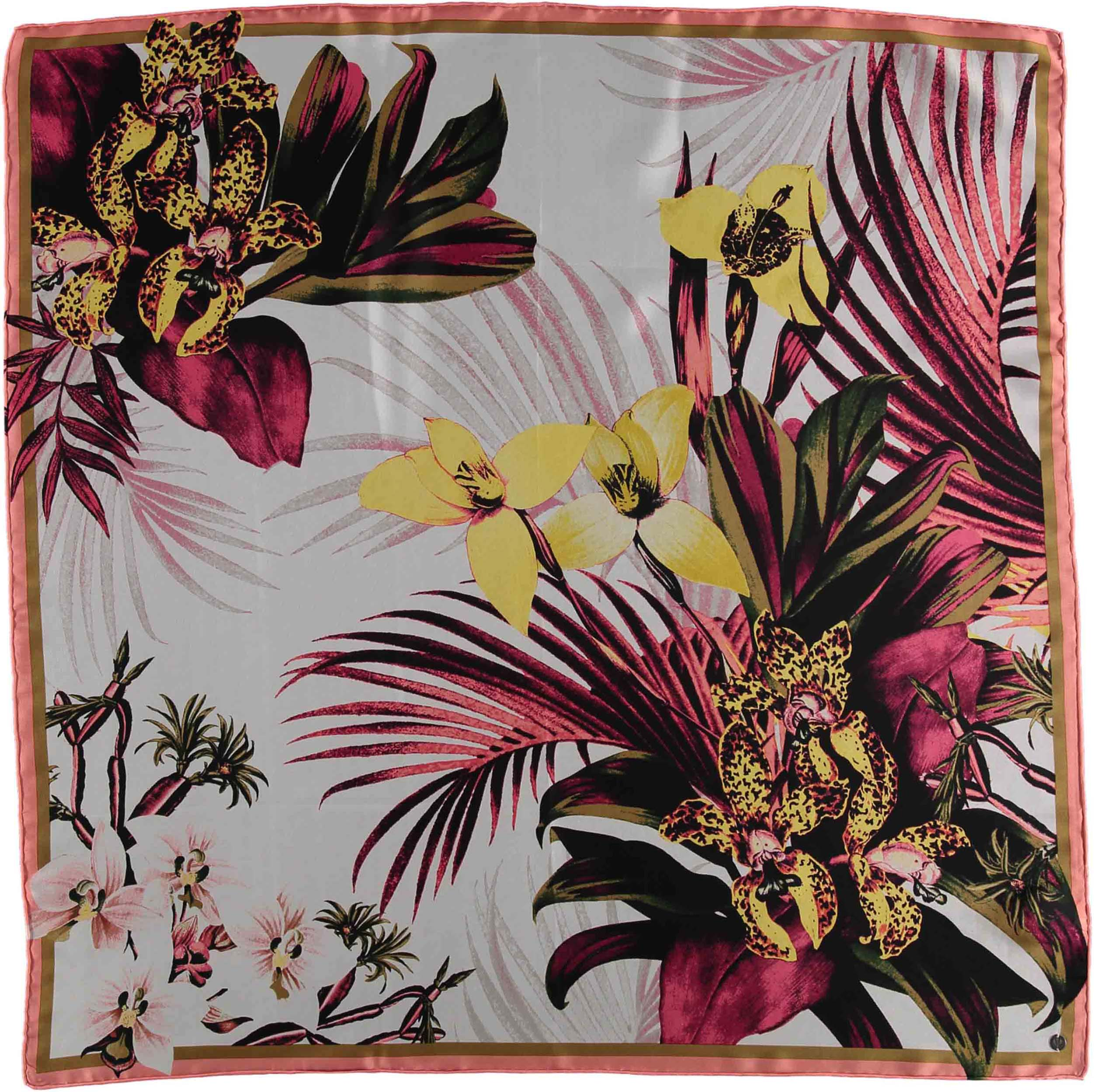 FRAAS Tropics Silk Oversized Print Square