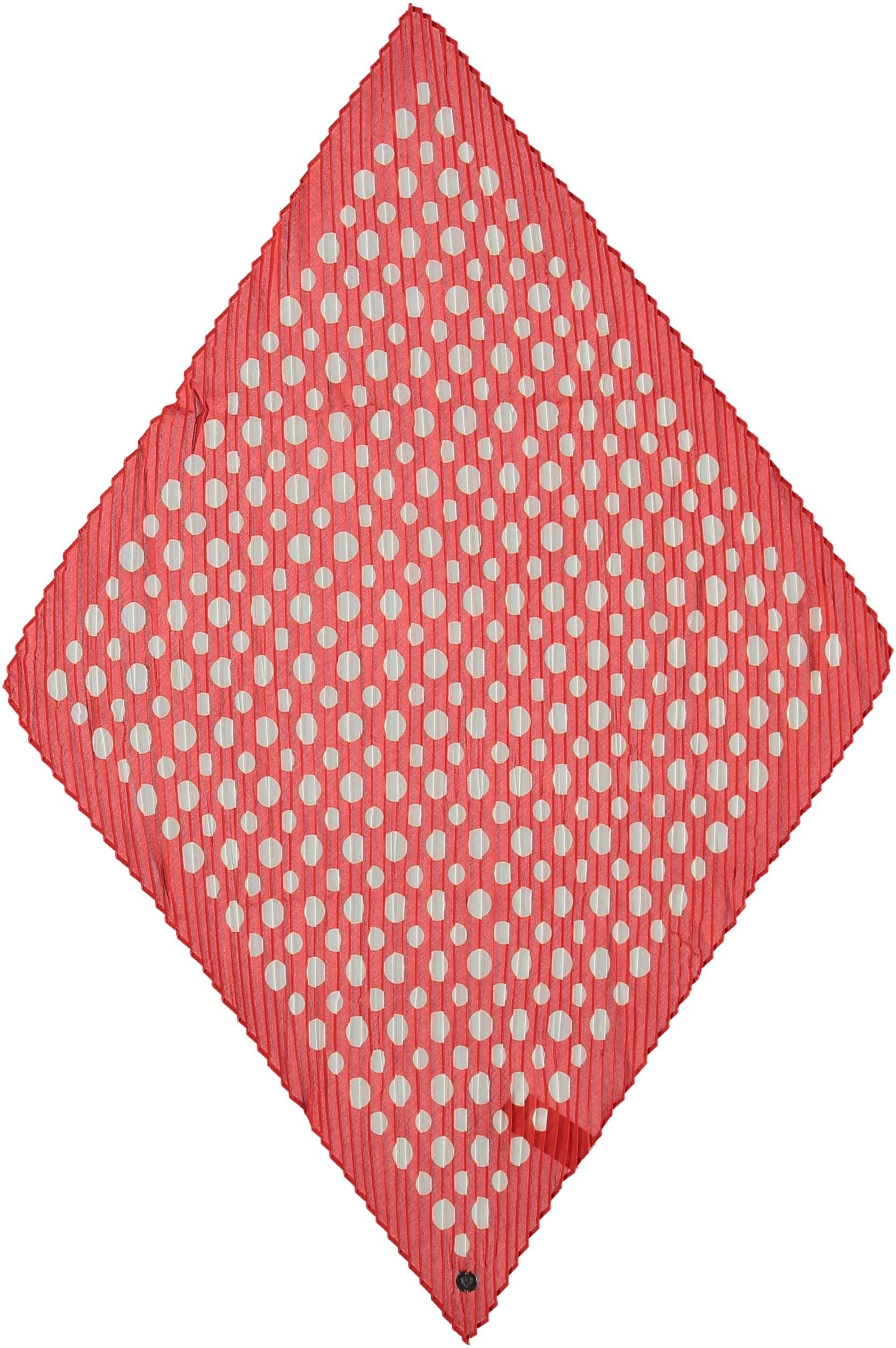 Crinkle Dots Polyester Plisse Print Neckie