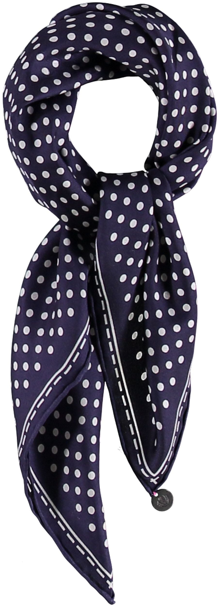 Classic Dot Silk Square Printed Neckie