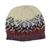Space Dye Ombre Birds Eye Knit Hat with Fleece Lining