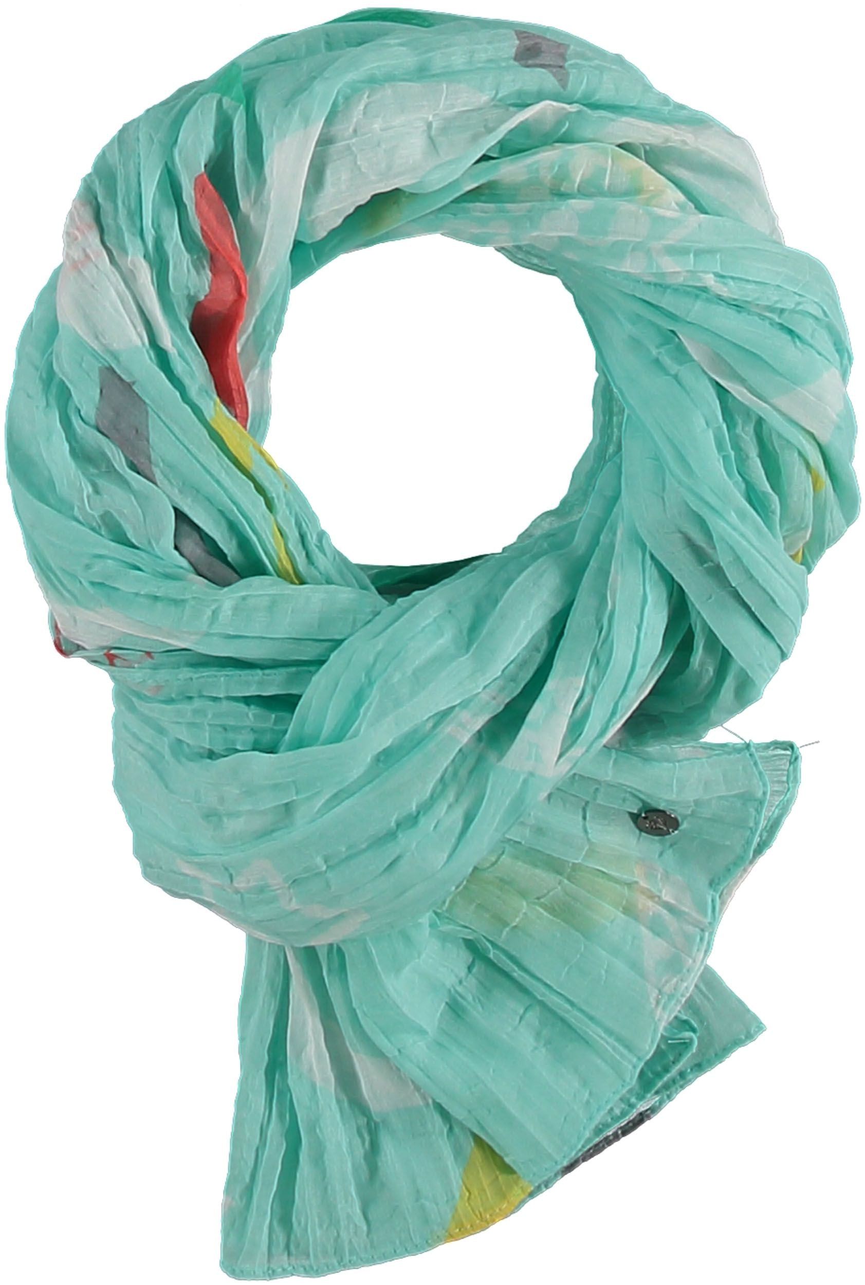 By The Sea Polyester Print Scarf
