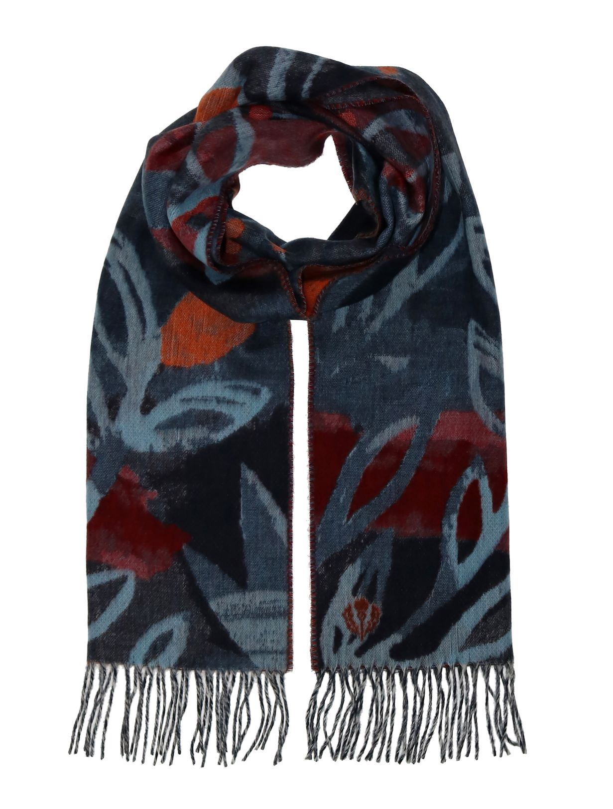 Branches & Berries Oversized Cashmink Scarf