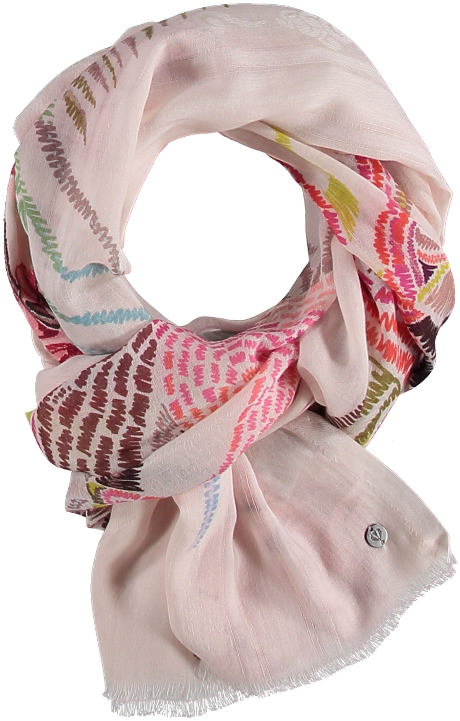 Floral Dynasty Cotton Print Scarf