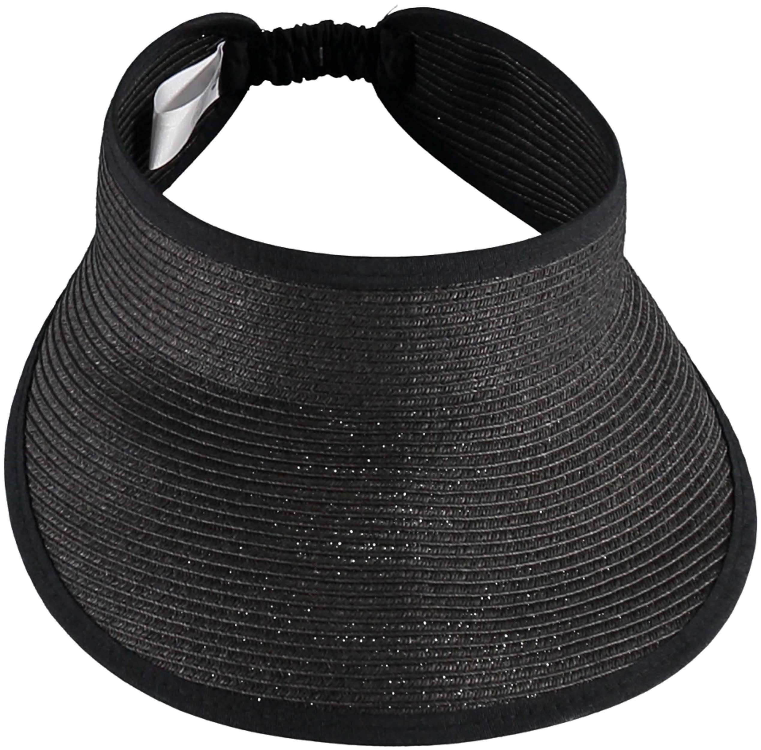 Straw Fashion Beach Visor