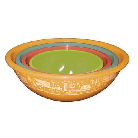 Image of Camp Casual Set of 4 Bowls with Lids
