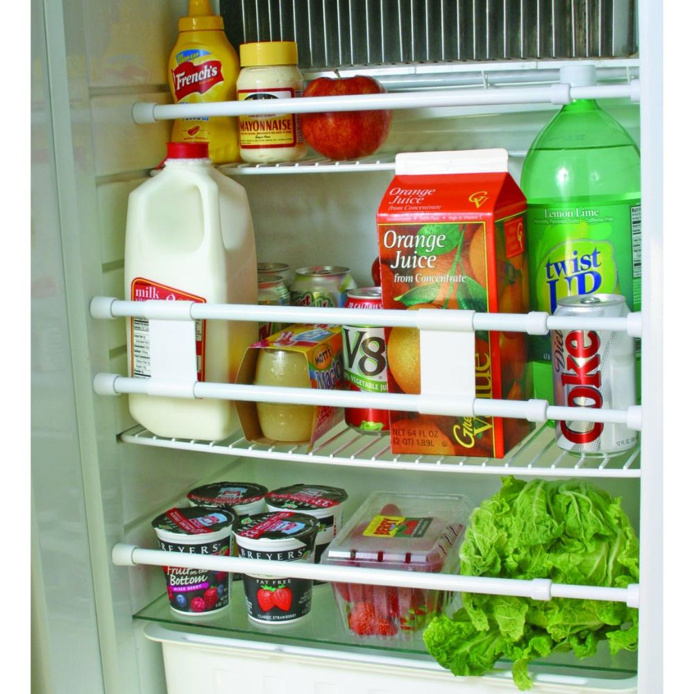 RV Refrigerator Bar - Holds Food and Drinks in Place During Travel