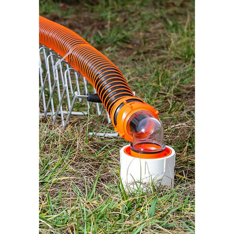 Sidewinder RV Sewer Hose Support