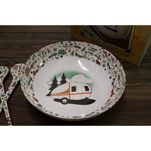 Image of Camp Casual Bowl & Servers Set