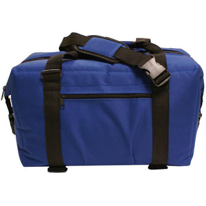 NorChill 24 Can Soft Sided Hot-Cold Cooler Bag - Blue