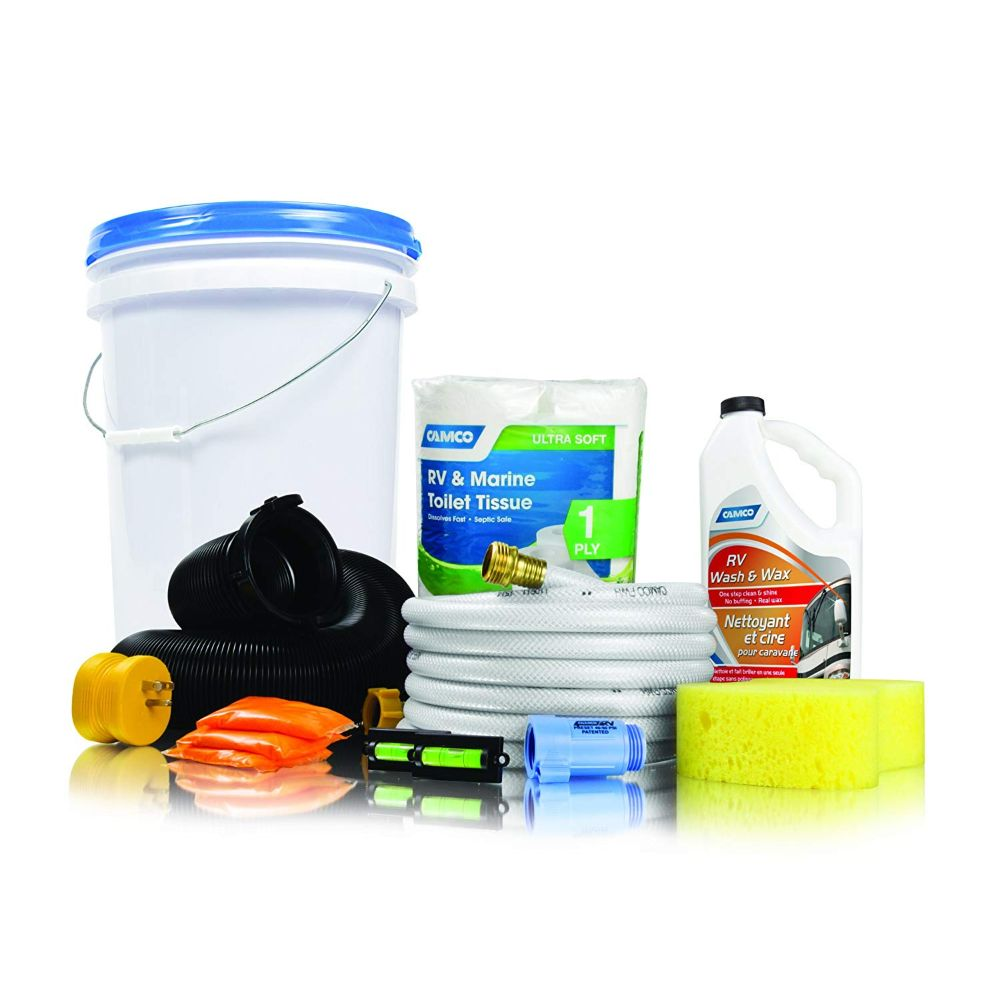 Camco RV Starter Kit Bucket