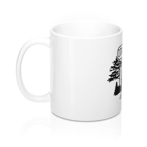 Bear In The Woods Mug - 11oz - Mug