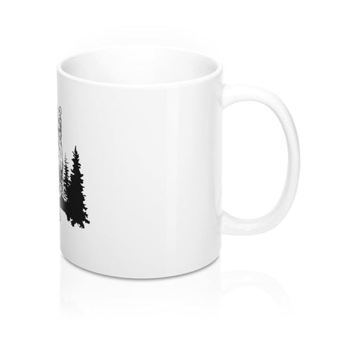Bear In The Woods Mug - Mug