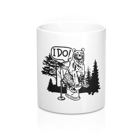 Image of Bear In The Woods Mug - 11oz - Mug