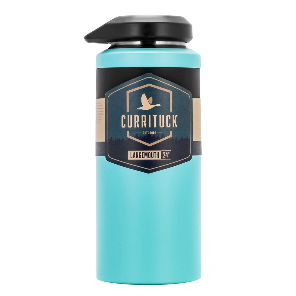 Camco Currituck Wide Mouth Beverage Bottle - 24oz - Seafoam - Outdoor