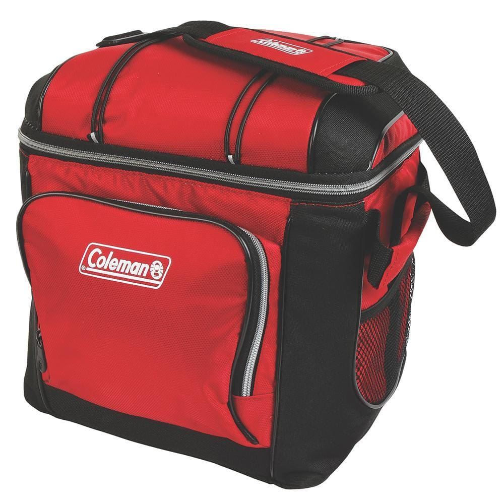 Coleman 30 Can Cooler - Red - Outdoor