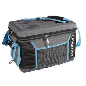 Coleman 75 Can Collapsible Sport Cooler - Gray/Blue - Outdoor