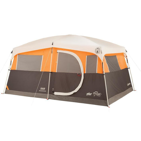Coleman Jenny Lake Fast Pitch 8-Person Cabin w-Closet - Outdoor