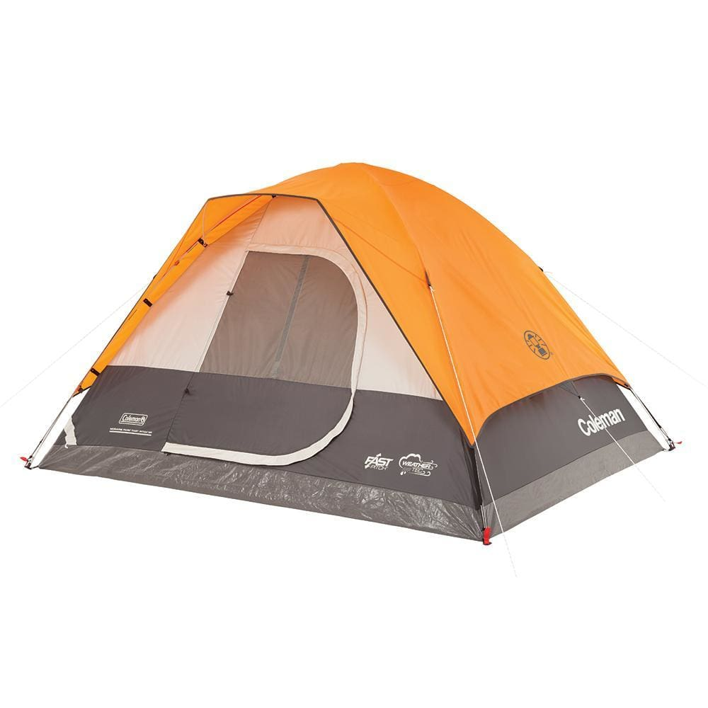 Coleman Moraine Park Fast Pitch 6-Person Dome Tent - Outdoor