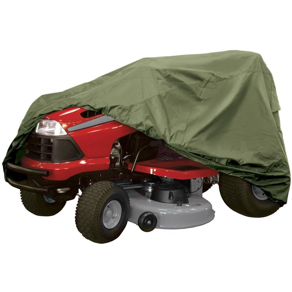 Dallas Manufacturing Co. Riding Lawn Mower Cover - Olive - Automotive/RV