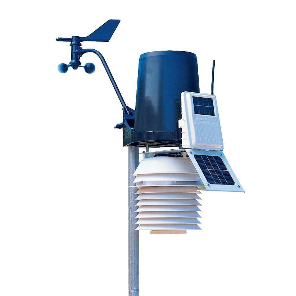 Davis 6323 Wireless Integrated Sensor Suite w-24hr Fan Aspirated Radiation Shield - Outdoor