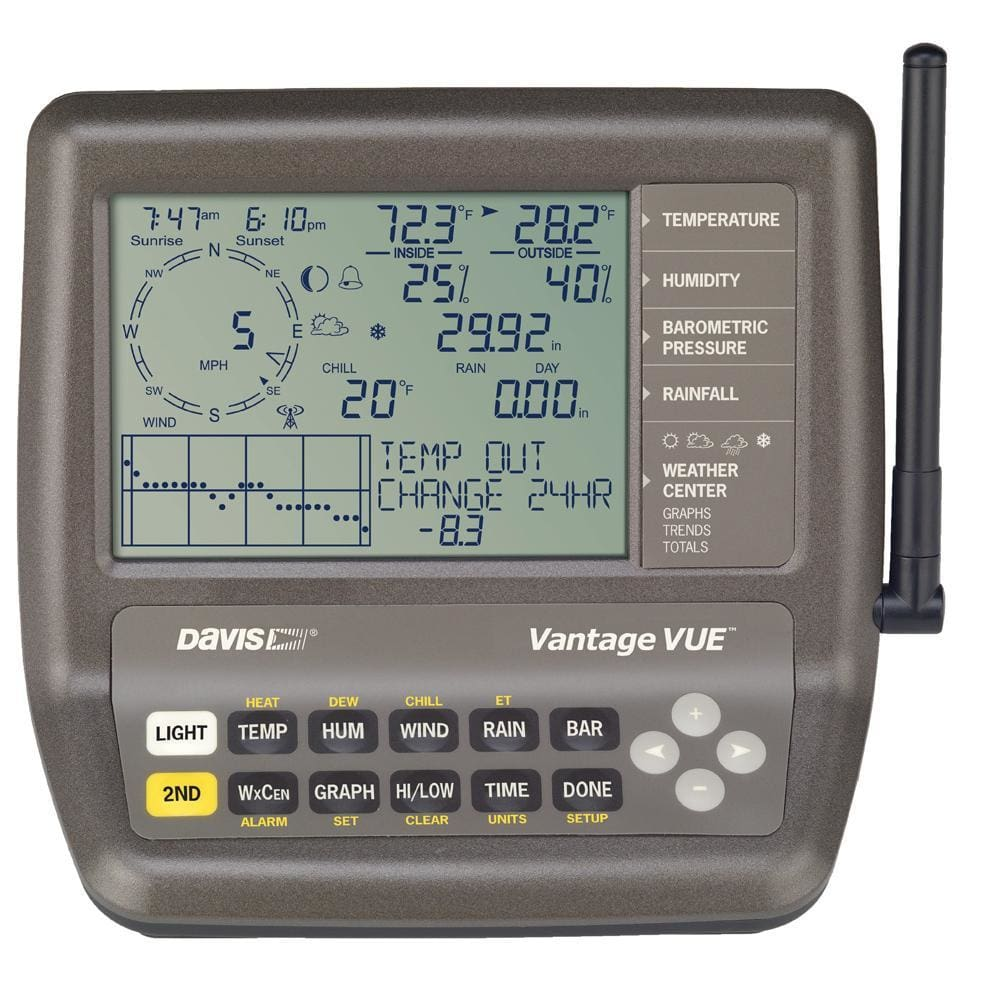 Davis Vantage Vue® 2nd Station Console-Receiver - Outdoor