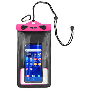 Dry Pak Smart Phone-GPS-MP3 Case - Hot Pink - 5 x 8 - Outdoor
