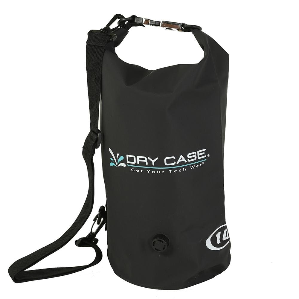 DryCASE Deca 10 Liter Waterproof Dry Bag - Black - Outdoor