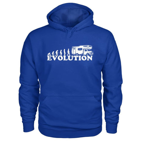 Evolution Camper Hoodie - Royal / S - Hoodies