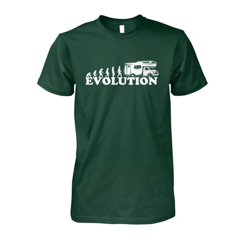 Image of Evolution Camper Tee - Forest Green / S - Short Sleeves