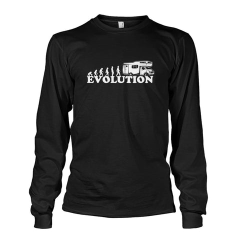 Evolution Long Sleeve - Black / S - Long Sleeves
