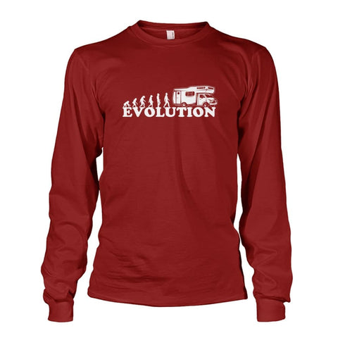 Evolution Long Sleeve - Cardinal Red / S - Long Sleeves