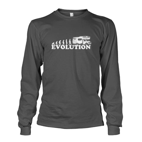Evolution Long Sleeve - Charcoal / S - Long Sleeves
