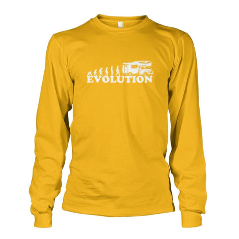 Evolution Long Sleeve - Gold / S - Long Sleeves