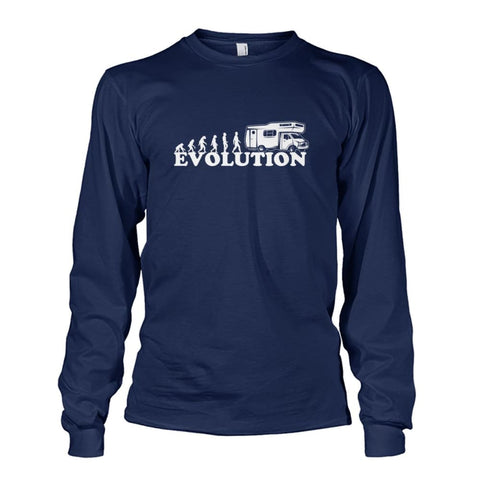 Evolution Long Sleeve - Navy / S - Long Sleeves