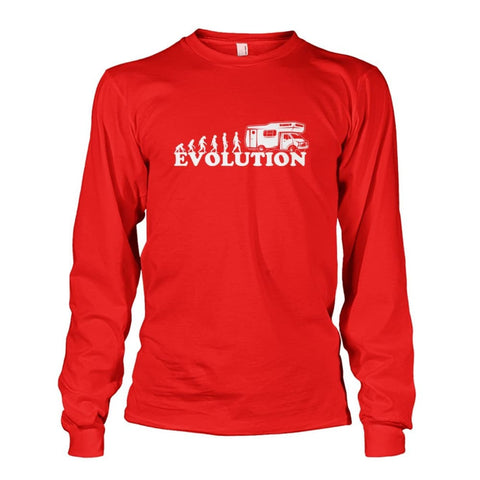 Evolution Long Sleeve - Red / S - Long Sleeves