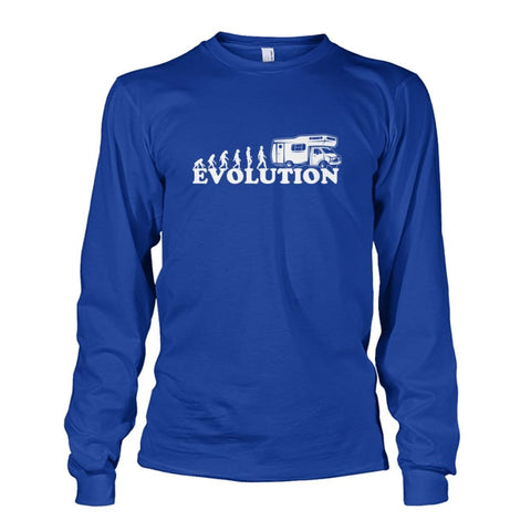 Evolution Long Sleeve - Royal / S - Long Sleeves