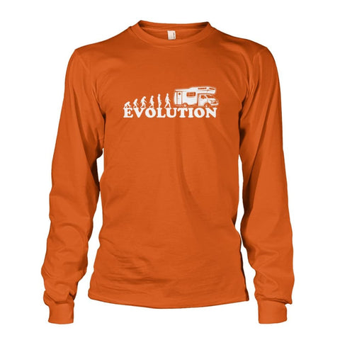 Evolution Long Sleeve - Texas Orange / S - Long Sleeves