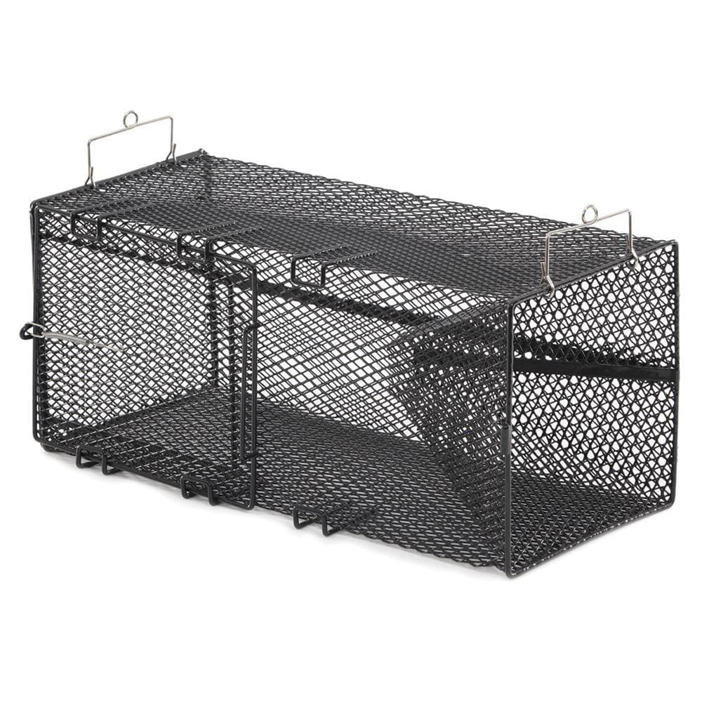 Frabill Black Pinfish Rectangular Trap - 18 x 12 x 8 - Outdoor