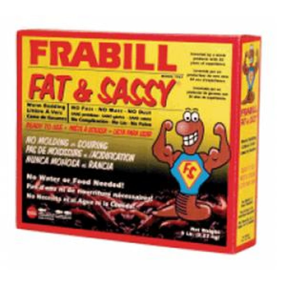 Frabill Fat & Sassy Pre-Mixed Worm Bedding - 5lbs - Outdoor