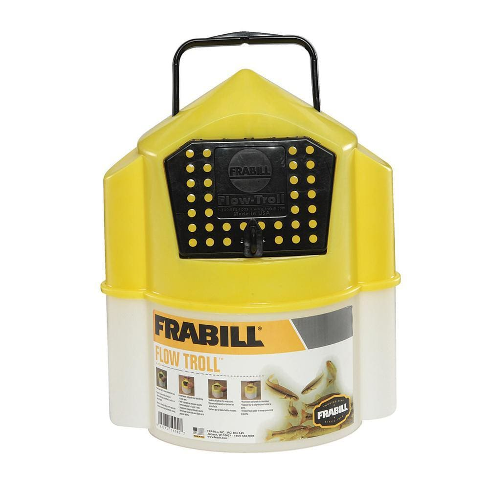 Frabill Flow Troll® Bucket - 6 Quart - Outdoor