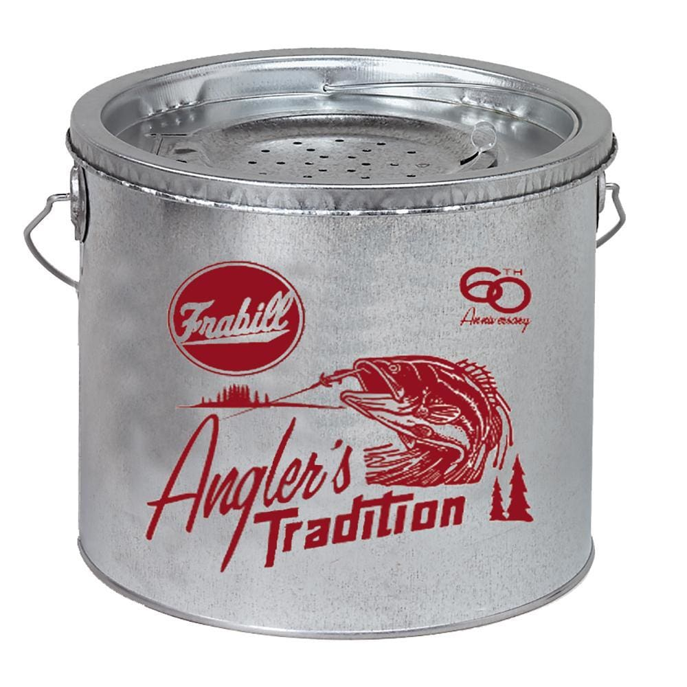 Frabill Galvanized 2-Piece Wade Floating Bucket - 8 Quart - Outdoor