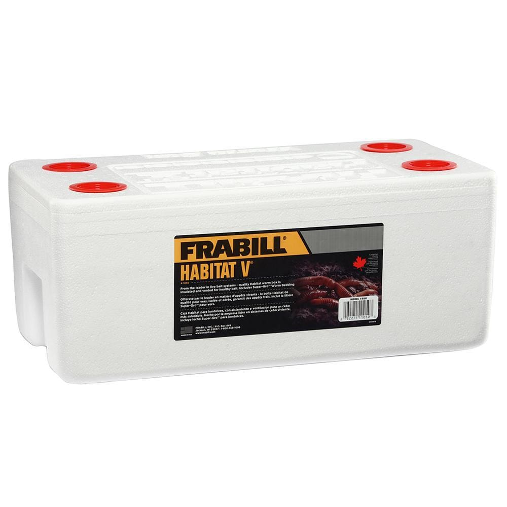 Frabill Habitat® V Worm Long Term Storage System - Outdoor