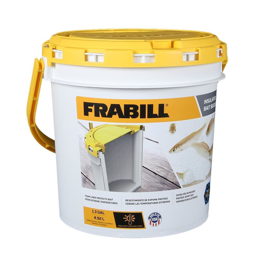 Frabill Insulated Bait Bucket - Outdoor