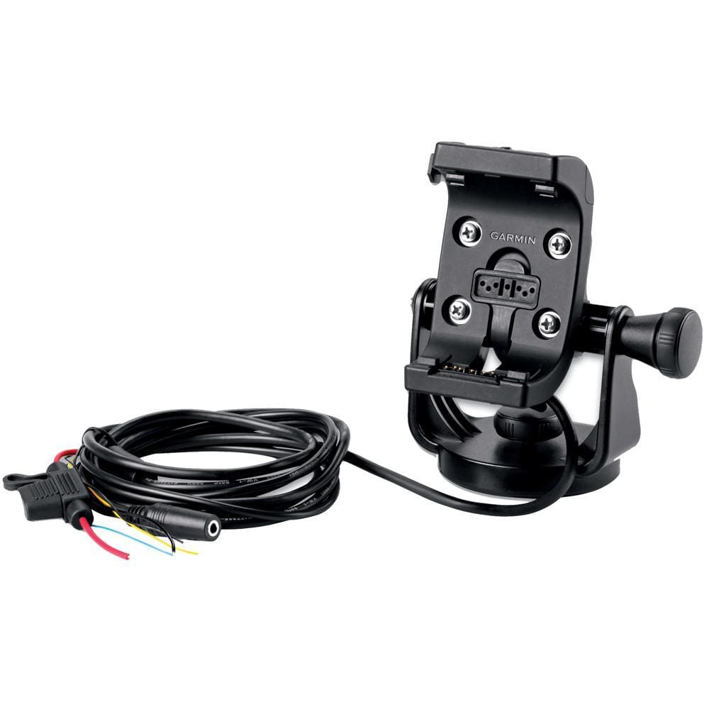 Garmin Marine Mount w-Power Cable & Screen Protectors f-Montana® Series - Outdoor