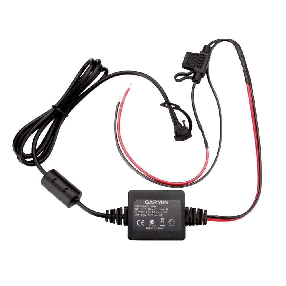 Garmin Motorcycle Power Cord f-zmo® 350LM - Automotive/RV
