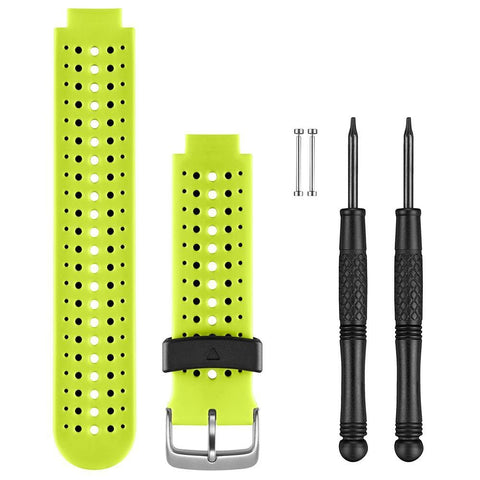 Garmin Replacement Watch Bands - Force Yellow Silicone - Outdoor