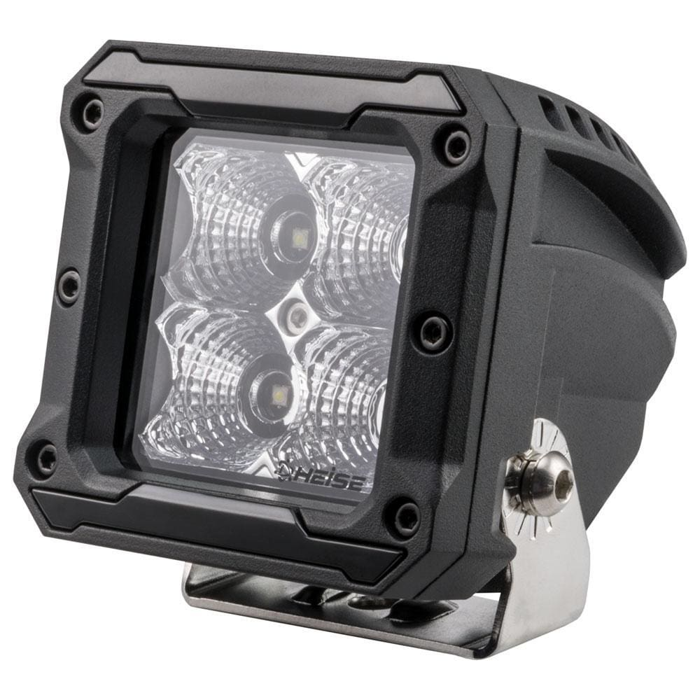 HEISE 4 LED Cube Light - Flood - 3 - Automotive/RV
