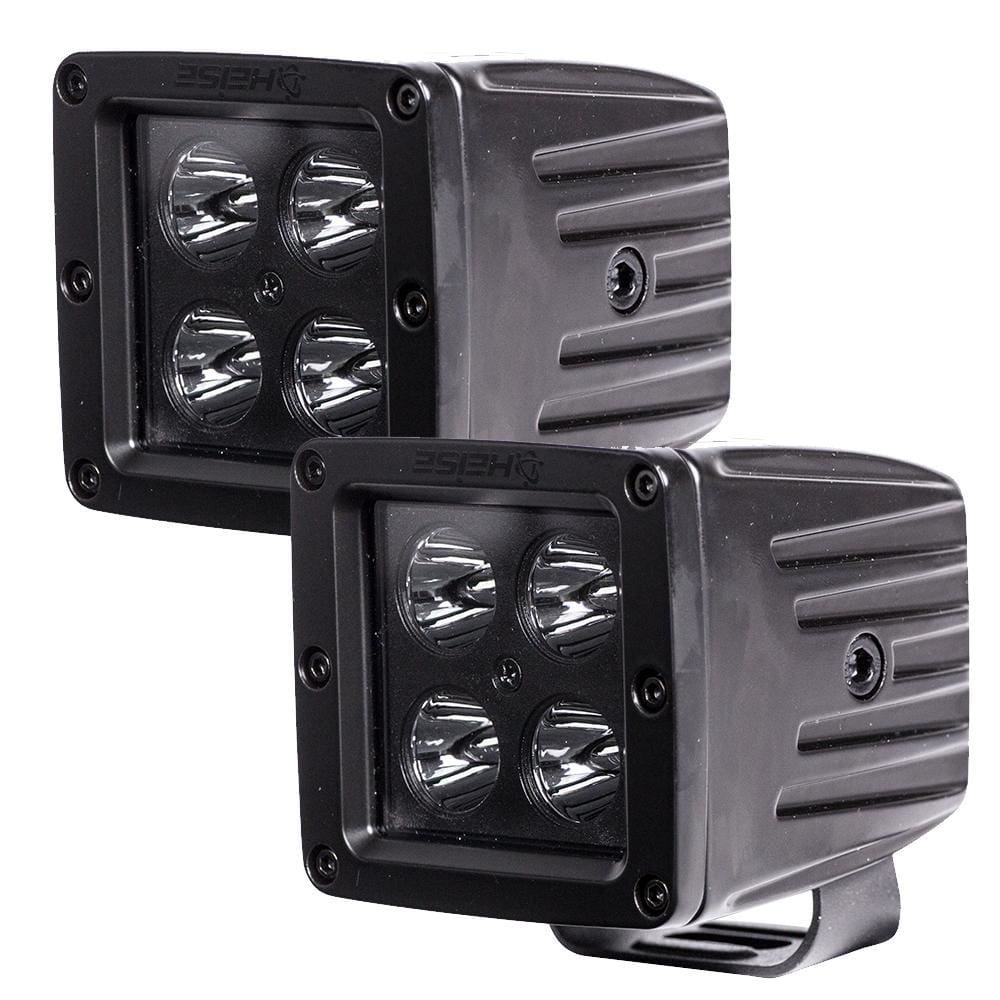 HEISE Blackout 4 LED Cube Light - 3 - 2 Pack - Automotive/RV