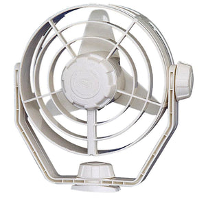 Hella Marine 2-Speed Turbo Fan - 12V - White - Automotive/RV